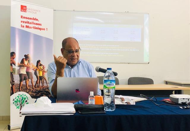 Ensemble revitalisons la Martinique - Renaissance Martinique mouvement politique