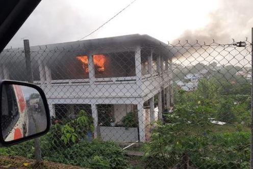 incendie maison aliker